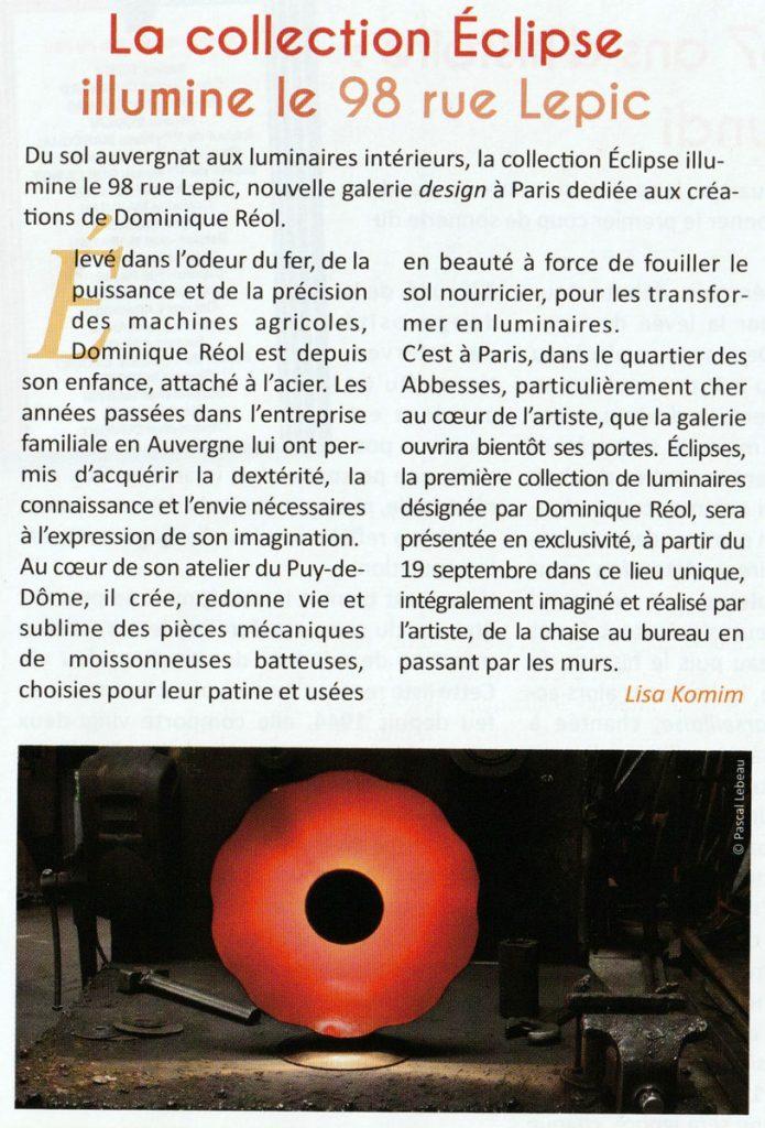Titre magazine